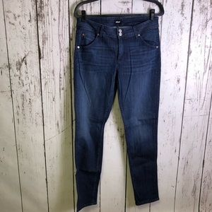 HUDSON Blue Skinny Jeans Flap Pocket 31